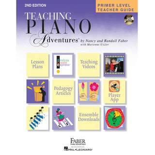 TEACHING PIANO ADVENTURES PRIMER LEVEL TEACHER GUIDE (WITH DVD)