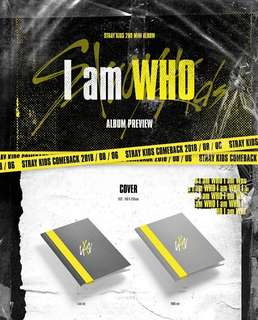 G.O Stray Kids - I am WHO (2nd Mini album)