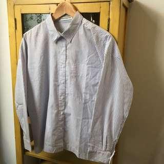 Cottonink Blue Stripes Shirt