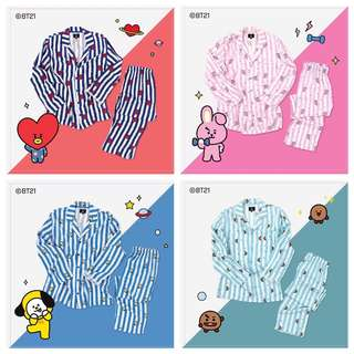 BT21 x HUNT INNERWEAR PAJAMAS
