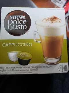 Nescafé Dolce Gusto coffee capsule Cappuccino