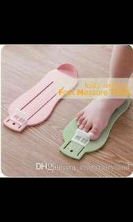 Baby foot measure