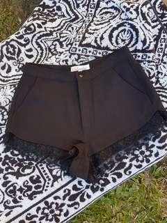 Luvalot black dress pants shorts 8