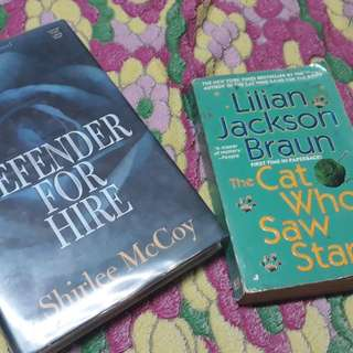 [BOOKS!] Defender For Hire - Shirlee McCoy & The Cat Who Saw Stars - Lilian Jackson Braun