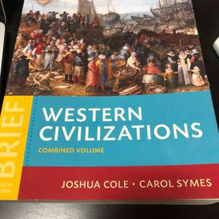 Western Civilizations, 4th Edition Textbook + Study Notes (EU1101E)