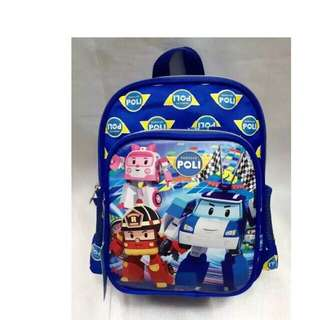 Robocar poli school bag