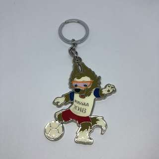 2018 World Cup FIFA Mascot Zabivaka Bottle Opener Keychain