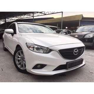 2014 Mazda 6 2.0 (A)CBU IMPORT BARU NEW SKYACTIVE