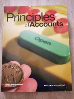 Principles Of Accounts Textbook