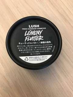 LUSH lemon flutter
