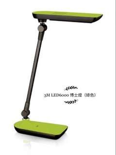 3M LED6000 12W座枱燈(綠色)