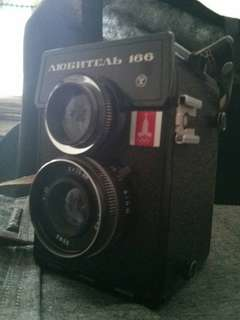 [VINTAGE] LOMOGRAPHY CAMERA LUBITEL 166 OLYMPIC EDITION