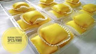 Durian Crepe Gebu