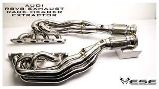 AUDI R8 V8 EXHAUST HEADER EXTRACTOR