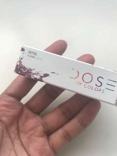 BNIB Authentic Dose of Colours Classic Lipstick (Ditto)