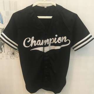 Champion buttoned up jersey