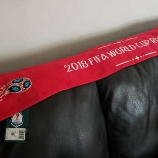 2018俄羅斯世界盃紀念頸巾