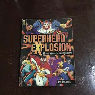 Superhero Explosion (How to draw comics guide)