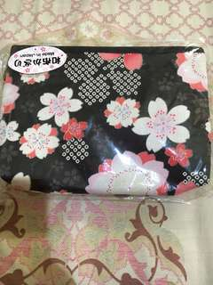 Pouch from japan. Original. New. Freongkir jabodetabek only