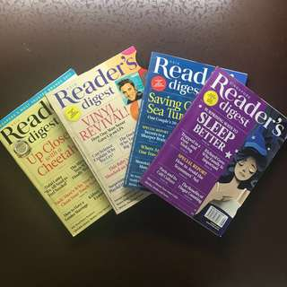 readers digest 2017 issues