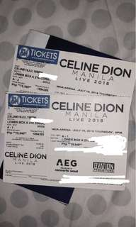 Celine dion lower box A