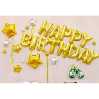 🚚 (In Stock)Party Decoration Set-Happy Birthday