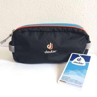 BNWT Deuter Black Multi Purpose Pencil Case Mini Box M Travel Pouch Bag