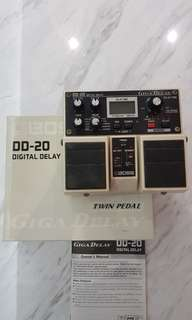 Boss DD-20 Digital Delay