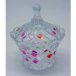Crystal Glass Jar of Sugar Pot/Decoration/Candy Storage