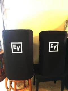 Electro Voice EV ZLX 12 active loudspeakers