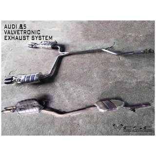 AUDI A5 VALVETRONIC EXHAUST SYSTEM