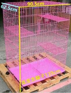 二手貓籠-自取1000元-幾乎全新-4.5尺高