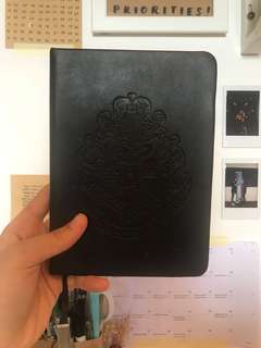 harry potter moleskin notebook