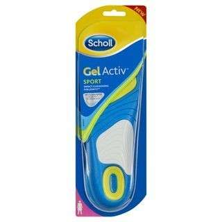 SCHOLL GELACTIV SPORTS INSOLES (FEMALE)