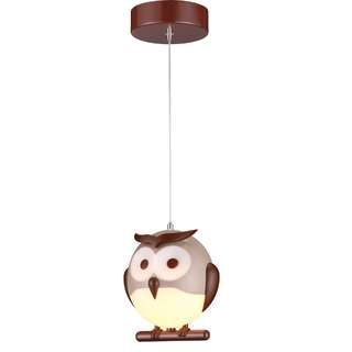 Kids Lighting Owl Single Drop Light KD16020-1B