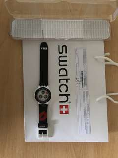 Swatch The Originals SUKW100 Snow Kiss watch