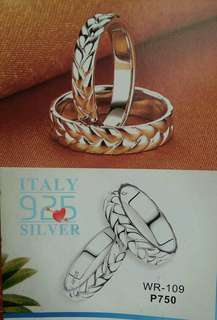 Couple Ring,Wedding Ring Silver 92.5