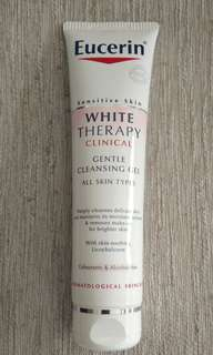 Eucerin  white  therapy  gel  cleaser.