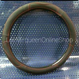 Pu leather luxury steering wheel cover