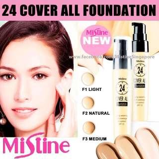 Mistine 24 cover All Foudation SPF15