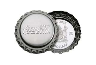 1oz Coca-Cola silver coin proof