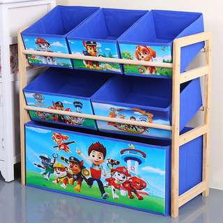 Kids Characters Storage Rack with Boxes