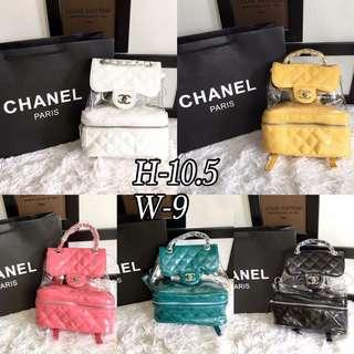 Chanel Transparen Backpack