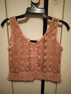 Ishka lace top free size