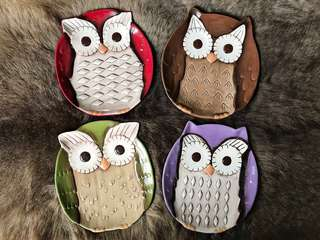 Small Owl Plates