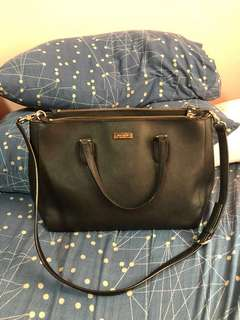 Authentic Kate Spade Laurel Way Leighann Leather Balck (Big size)