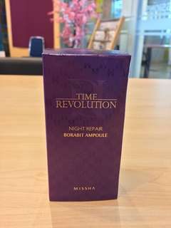 Missha Time Revolution Nigh Repair Borabit Ampole