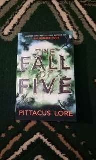 The Fall of Five - I am Number Four series