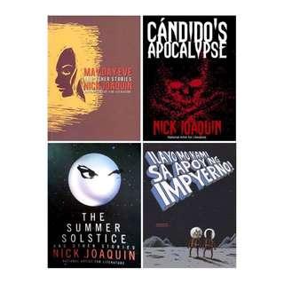 Nick Joaquin & Manix Abrera Books