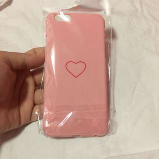 🌻BRANDNEW🌻 Iphone 6 Iphone 6s Cute Pink Heart Hard Case